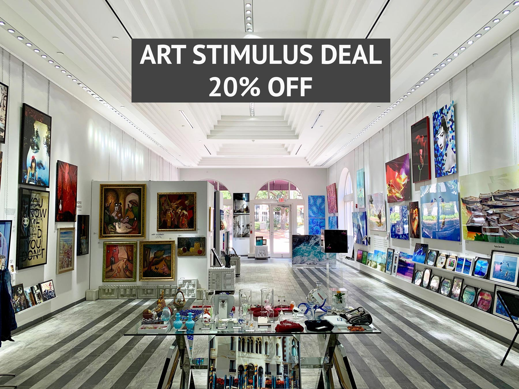 ART STIMULUS DEAL 2 Proudly Presents