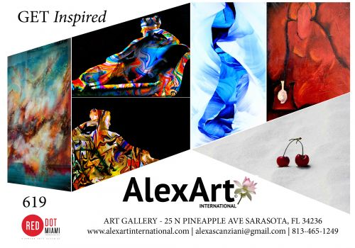 ALEXART AT RED DOT MIAMI DEC 4-8, BOOTH 619