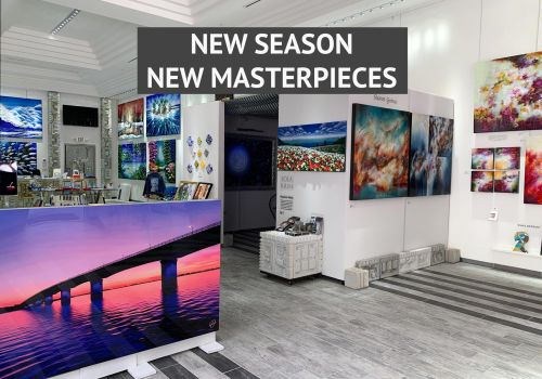 NEW SEASON. NEW MASTERPIECES